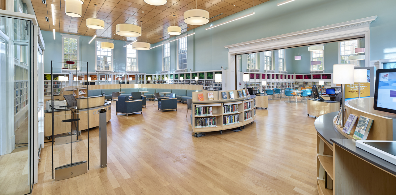 Interior Children's Area - Logan Library