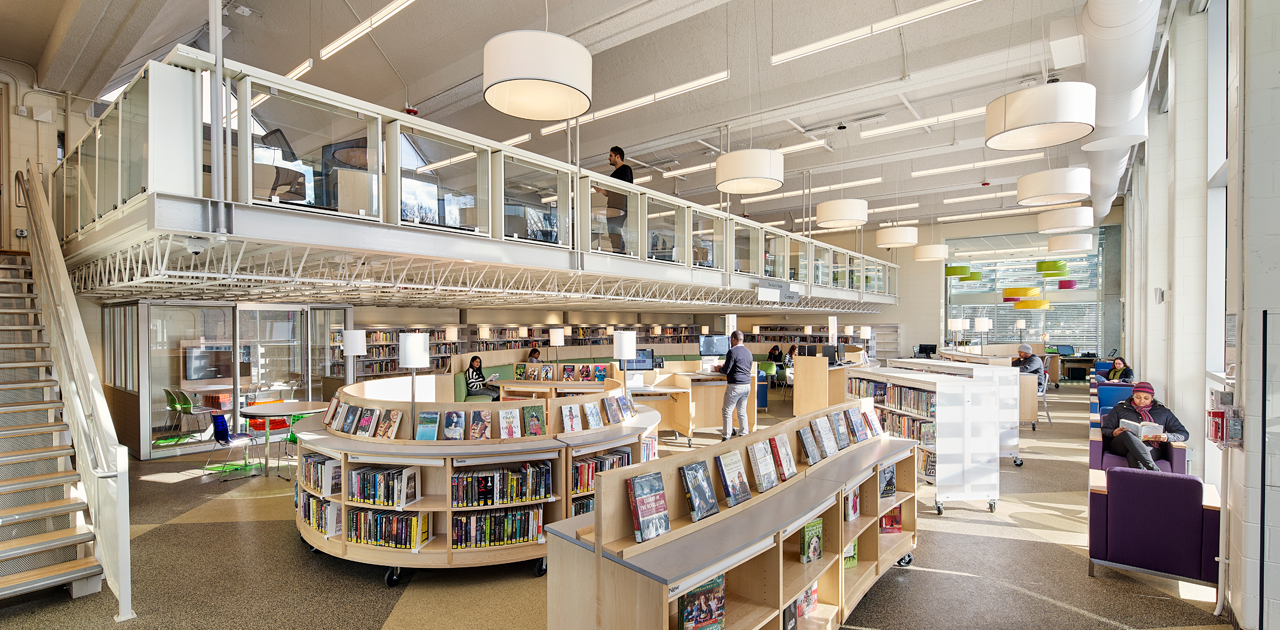 Interior - Lovett Library