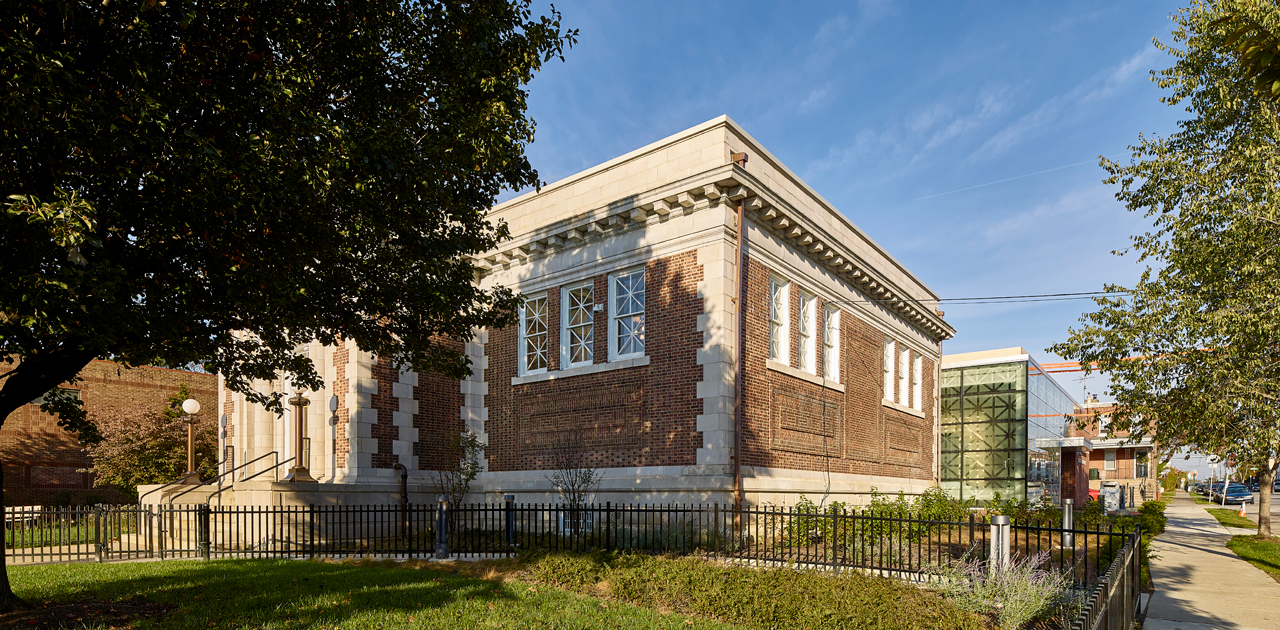 Historic Entrance - Tacony Library
