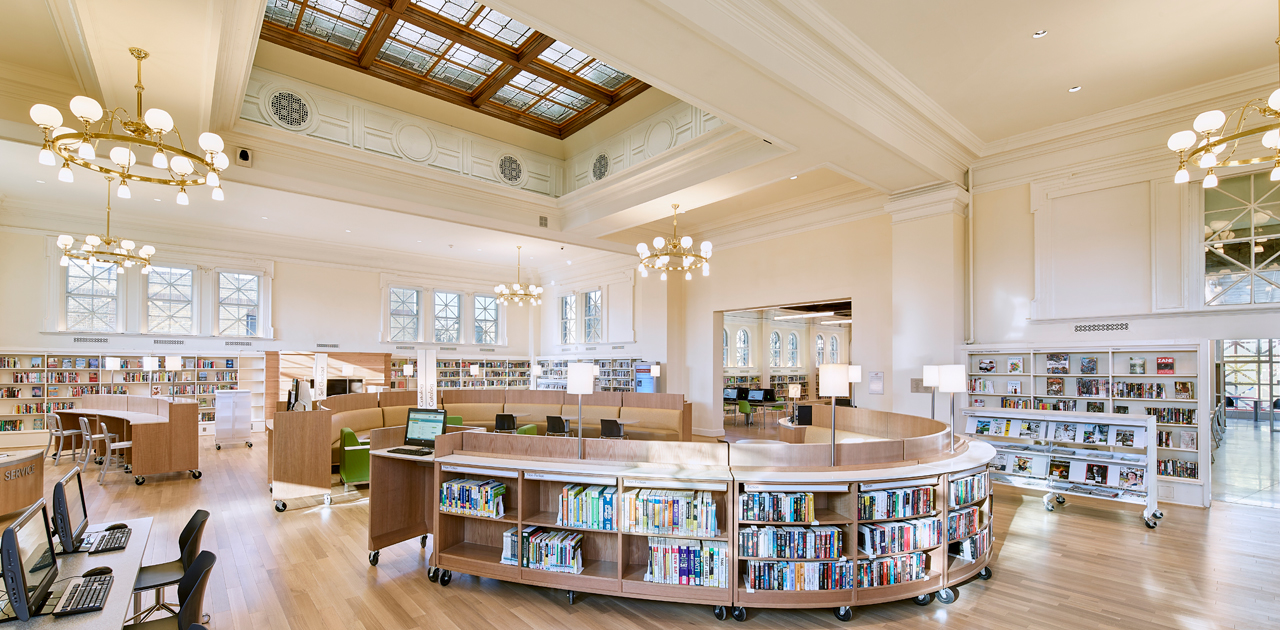 Interior - Tacony Library